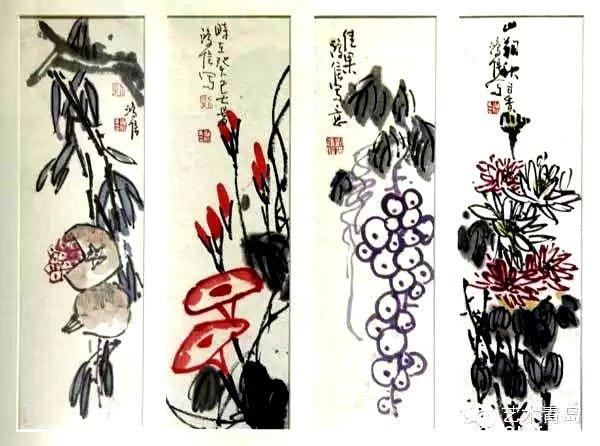 展览集中推出刘鸿信书画小品五十余幅图片